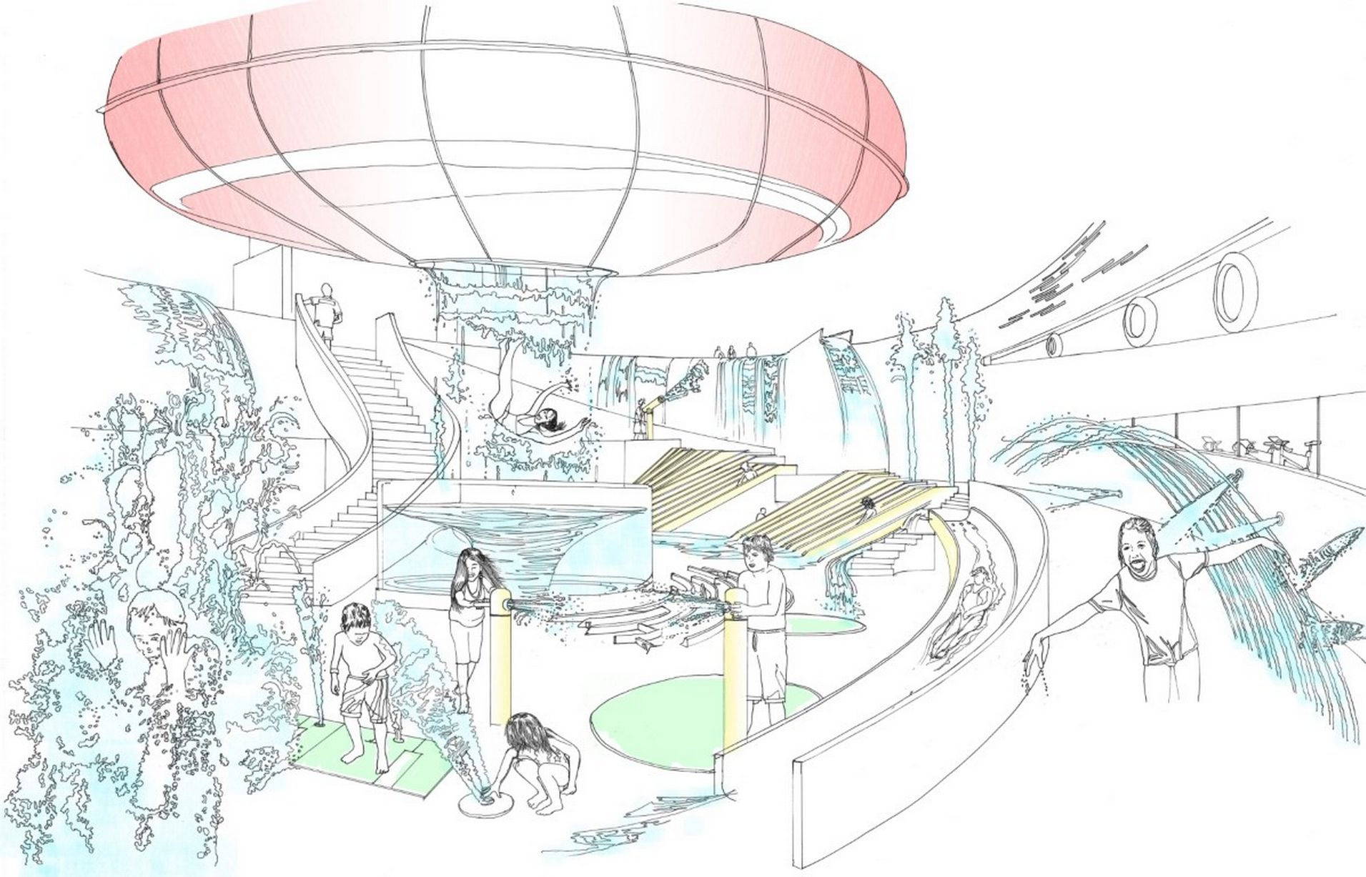 Coventry Water Park drawing