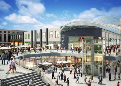 Newport City Centre Redevelopment Friars Walk Shopping Centre